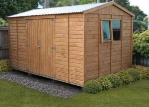 different types of garden shed